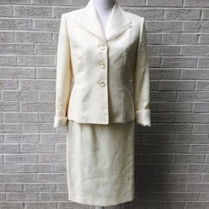 Le Suit Jacket And Dress Set Size 6P